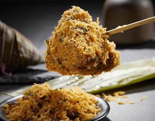 海苔肉松粽子